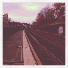 Photo taken at Newtonville MBTA Commuter Rail by runner d. on 12/20/2011