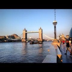 Photo taken at London Bridge City Pier by iDimka on 5/26/2012