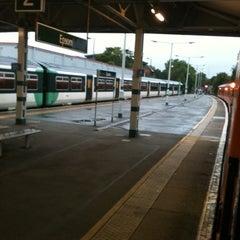 Photo taken at Epsom Railway Station (EPS) by Stephen C. on 8/23/2011
