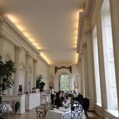 Photo taken at Orangery at Kensington Palace by Shane B. on 5/7/2012