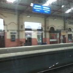 Photo taken at Stasiun Cirebon Kejaksan by Nugroho Budi S. on 3/9/2012