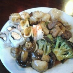 Photo taken at East Hibachi Grill by Angela K. on 4/6/2012