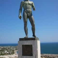 Photo taken at Άγαλμα του Μπρουκ (Brook's Statue) by Maria C. on 8/18/2012