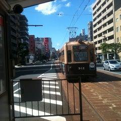 Photo taken at 広島電鉄 寺町電停 (Tera-machi Sta.) (Y2) by Masanori S. on 8/2/2012