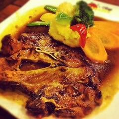 Photo taken at Banafee Village Restaurant by Sara J. on 7/22/2012