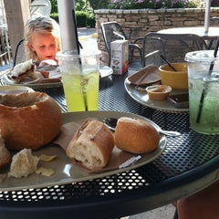 Photo taken at Panera Bread by Stephanie E. on 8/7/2012