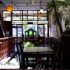 Photo taken at Bulldog Cafe by Michiko C. on 12/15/2011