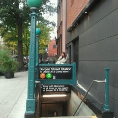 Photo taken at MTA Subway - Bergen St (F/G) by The Official Khalis on 10/21/2011