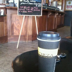 Photo taken at Forza Coffee by STEVE S. on 8/10/2011