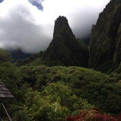 Photo taken at ʻĪao Valley State Park by Carol K. on 8/27/2012