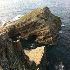 Photo taken at Faro de Cabo Vidio by JORGE on 8/11/2011