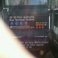 Photo taken at MTA Subway - A Train by Jason C. on 9/16/2011