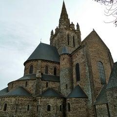 Photo taken at Basilique Notre-Dame d'Avesnières by Parisian Geek on 6/27/2011