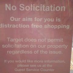 Photo taken at Target by TJ M. on 10/27/2011