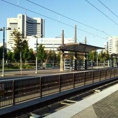 Photo taken at Baylor Medical Center Station (DART Rail) by Mike D. on 10/2/2011
