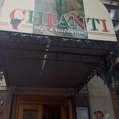 Photo taken at Chianti Café & Restaurant by Mary B. on 8/25/2012