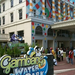 Photo taken at Bukit Gambang Water Park by Henry T. on 3/5/2011