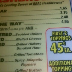 Photo taken at Waffle House by Shavone W. on 3/11/2012