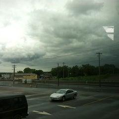 Photo taken at Megabus stop by Kim C. on 6/4/2012