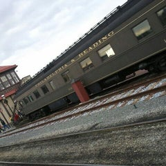 Photo taken at Strasburg Railroad by Traci on 12/31/2011