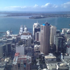 Photo taken at Sky Tower by Craig S. on 8/20/2012