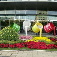Photo taken at 코엑스 (COEX) by Winsca H. on 10/20/2011