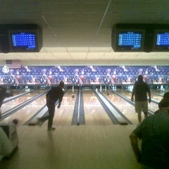 Photo taken at Bar-Don Lanes by Derek D. on 1/27/2012