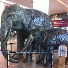 Photo taken at Indira Gandhi International Airport (DEL) by Massimiliano P. on 6/6/2012