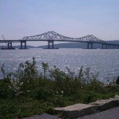 Photo taken at Tappan Zee Bridge by Gabs S. on 4/21/2012