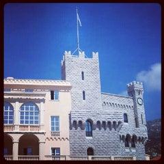 Photo taken at Palais Princier de Monaco by Robbie M. on 6/15/2012