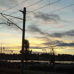 Photo taken at New London Union Station by Buck S. on 9/6/2012
