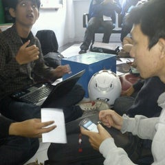 Photo taken at Gedung Ilmu Komputer (GIK) by Mohammad Fachry R. on 7/17/2012