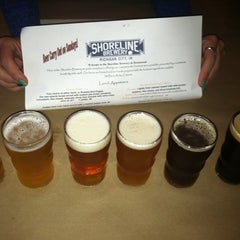 Photo taken at Shoreline Brewery by Rudi S. on 10/3/2011