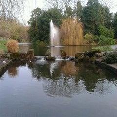Photo taken at Sefton Park by Simon A. on 1/26/2012