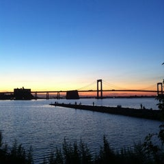 Photo taken at Throgs Neck Bridge Lookout Parking Lot by Melissa on 8/24/2011