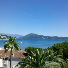 Photo taken at Sportski Centar Igalo by Elena B. on 6/27/2012