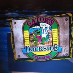 Photo taken at Gator's Dockside by Da #1 Lady D. on 3/30/2012