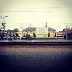 Photo taken at Rzeszów Główny by Pawel W. on 8/15/2012