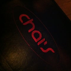 Photo taken at Chai's by Matches M. on 2/29/2012