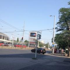 Photo taken at Stadion autóbusz-pályaudvar by Valentina on 7/6/2012