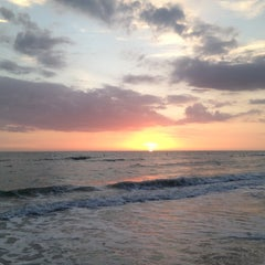 Photo taken at Madeira Beach by Suzanne A. on 3/22/2012