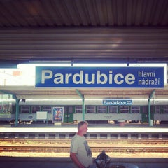 Photo taken at Pardubice hlavní nádraží by Alexandr V. on 8/24/2012