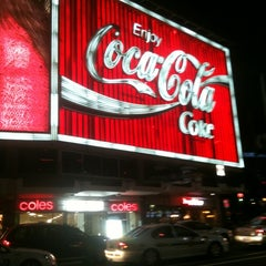 Photo taken at The Coca-Cola Billboard by Marcus M. on 6/22/2012