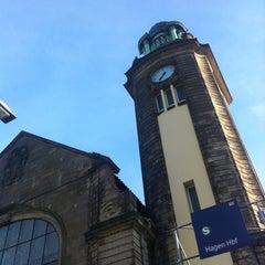 Photo taken at Hagen Hauptbahnhof by Gero P. on 5/3/2012