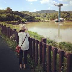 Photo taken at 율동공원 (Yuldong Park) by Jungyeop K. on 7/20/2012