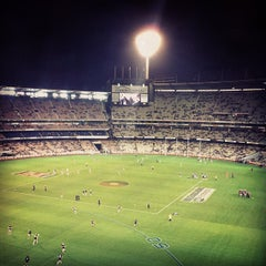 Photo taken at Melbourne Cricket Ground (MCG) by Henry O. on 5/18/2012