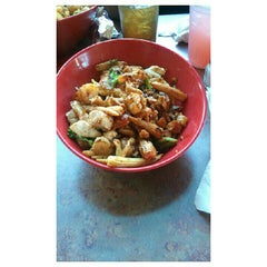 Photo taken at Genghis Grill by Cadillac ♚. on 5/18/2012