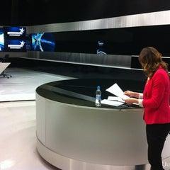 Photo taken at MTV3 HN Studio by Harri on 5/4/2012