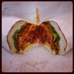 Photo taken at Los Gatos Meats Smokehouse by Domingo C. on 5/30/2012