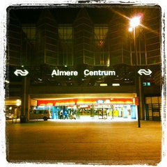 Photo taken at Station Almere Centrum by Gertjan O. on 7/30/2012